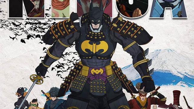 Warner Bros. tung traier cực nóng hổi cho phim hoạt hình Batman Ninja