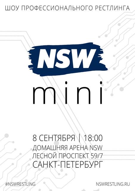 Постер шоу NSW mini (08/09)