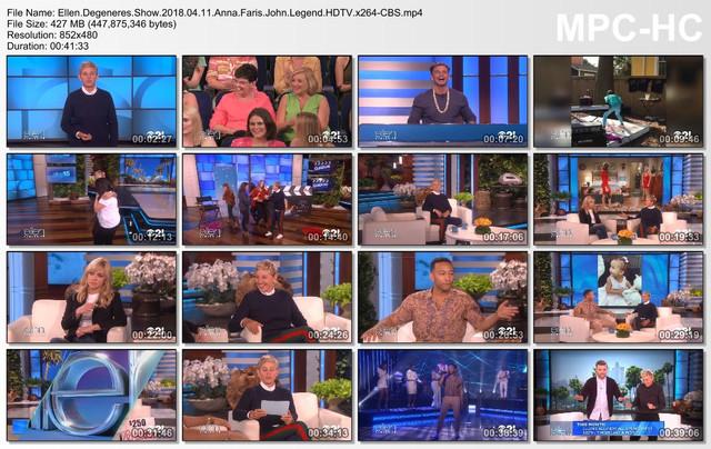 Ellen Degeneres Show 2018 04 11 Anna Faris John Legend HDTV x264-CBS mp4