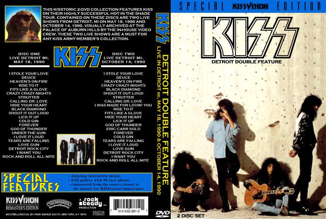KISS - 1990-05-18 ~ Detroit, MI CBG Classic Master Edition