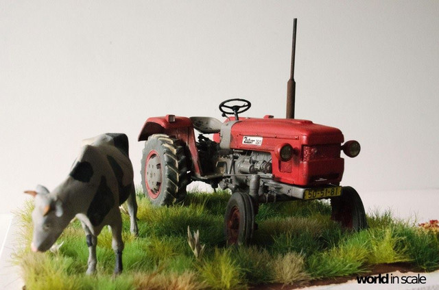 Zetor 3511 - 1:35 of SKP Models 24068500_946722118828637_159148063810424865_o
