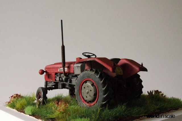 Zetor 3511 - 1:35 of SKP Models 23847141_946722055495310_1696745403374811120_o