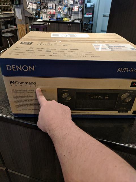 Denon X4400h Fan