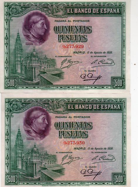 500 ptas 1928 3