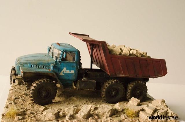 "Ural-4320 ""Dumper Truck"" - 1/35 by Trumpeter, Balaton Modell 25532293_960247500809432_1226141218375496872_o"