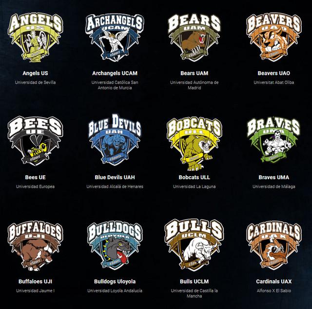 Alguno de los equipos que participan en la liga