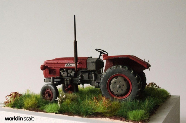 Zetor 3511 - 1:35 of SKP Models 24132081_946722185495297_2657127257430443782_o