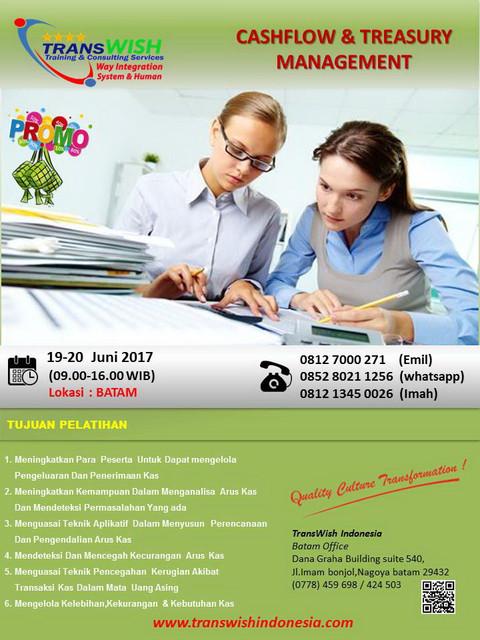 Cash_Flow_Treasure_Management_promo training batam-transwish indonesia