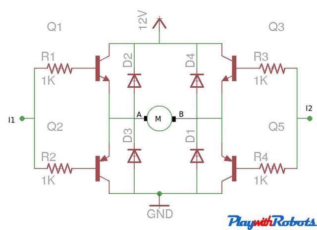 h-bridge-transistor