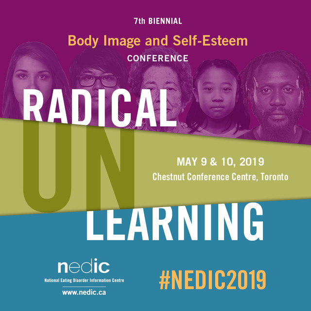 27337 NEDIC Body Image and Self Esteem Conference 2019 Radical Unlearning Save The Date
