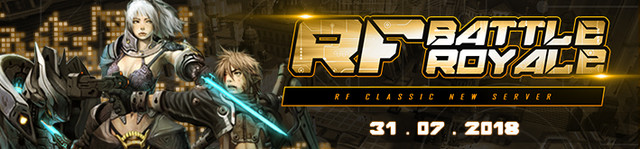 [OFFICIAL] RF INDO - ALL SERVER | KASKUS community @NEW Battle Royale | 31 July 2018