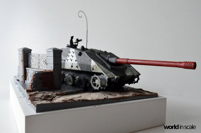 Jagdpanzer E-100 - 1/35 of Trumpeter 29340153_1011987165635465_8898384003439001600_o