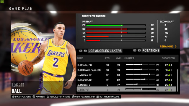 (Updated) Body Portraits  2K19 NBA LA Full at Lakers -