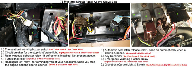 [Image: 73_Mustang_Circuit_Panel_Above_Glove_Box.jpg]