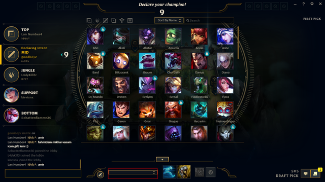 League of legends matchmaking bug