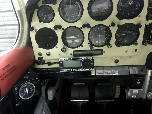 SiriusXM music in the cockpit (or any music service