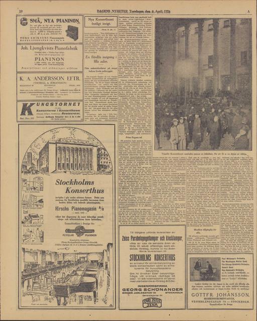 helbild dagens nyheter torsdag 8 april 1926 sida 10 jp2