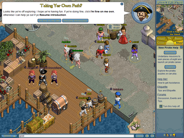 Puzzle Pirates Defconfour 1