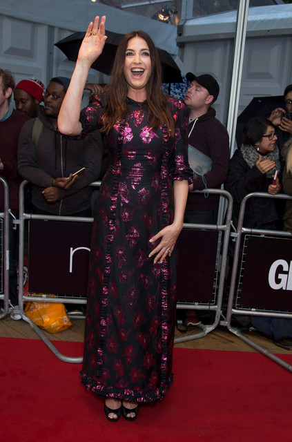 Lisa Snowdon attends the Glamour Women of the Year Red Carpet Arrivals at Berkley Square Gardens in