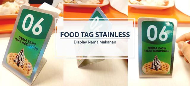 Food_tags_stainless_Display_nama_makanan_size_kecil