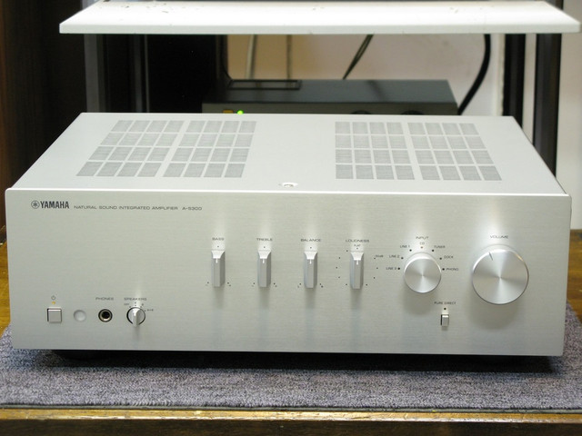 Yamaha AS-300 Integrated Stereo Amplifier, Speaker amp 01-25-24-a