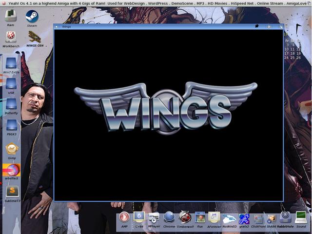 Steam Shortcut Inside Amiga OS39 Amikit X