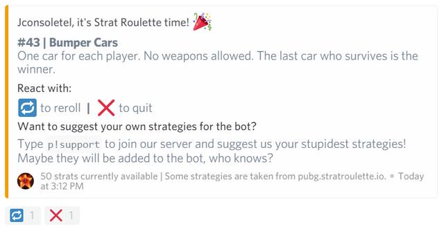 Strat Roulette