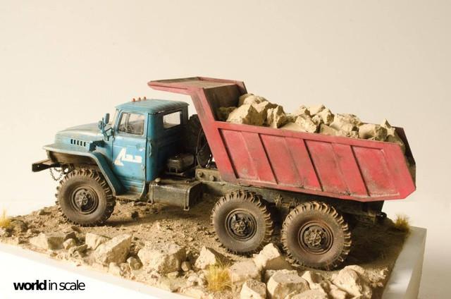 "Ural-4320 ""Dumper Truck"" - 1/35 by Trumpeter, Balaton Modell 25532217_960247560809426_1353667583392657586_o"