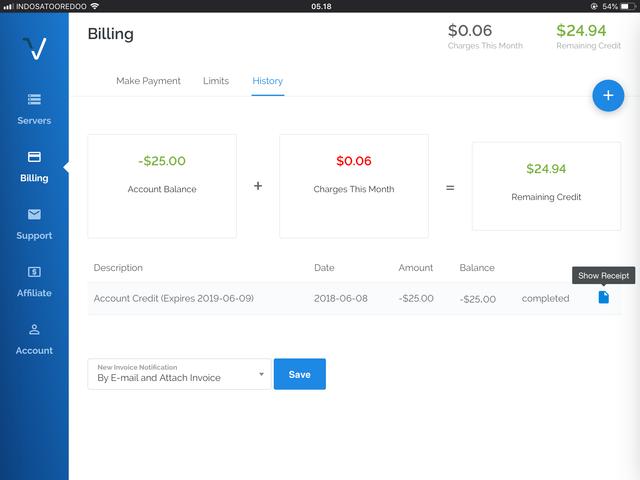 Got Vultr $25 free credit — LowEndTalk