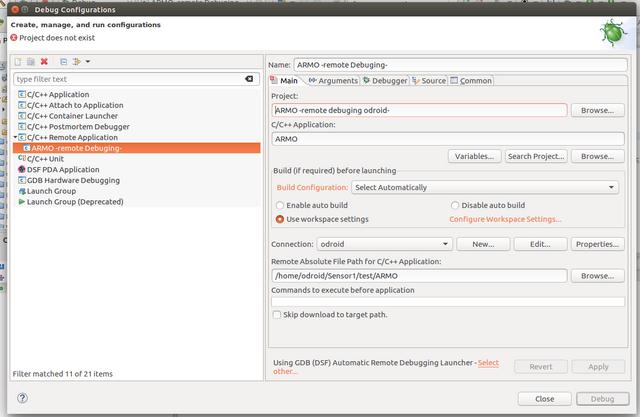 debug settings2