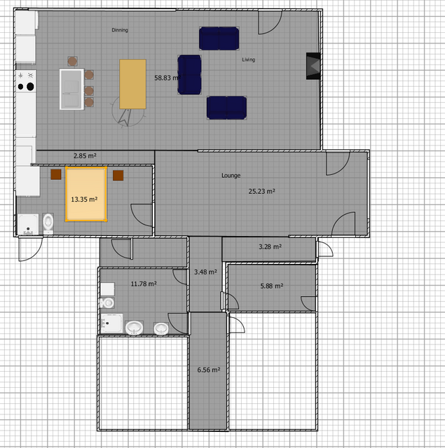 adding extra bedroom and living area