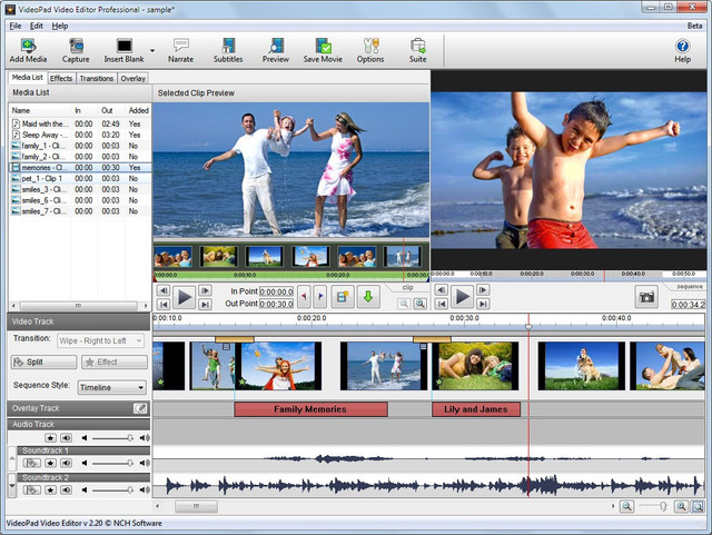 Download VSDC Video Editor 5.7.1 Full Patch