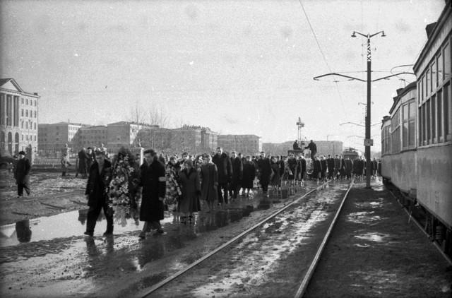 Dyatlov pass funerals 9 march 1959 15