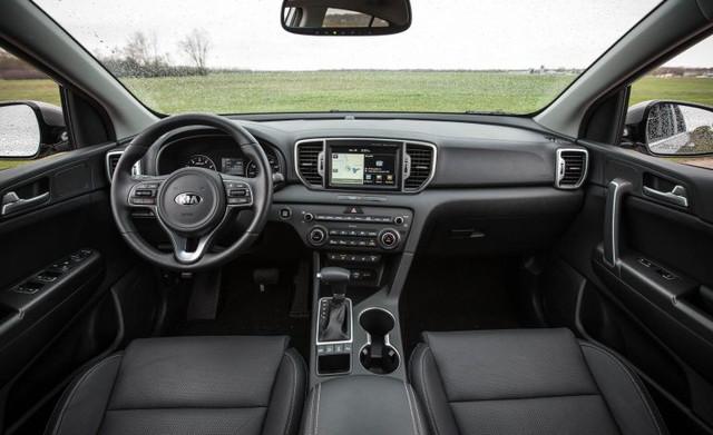 Kia Sportage 2018 interior