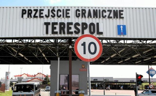 Przejście graniczne, Terespol