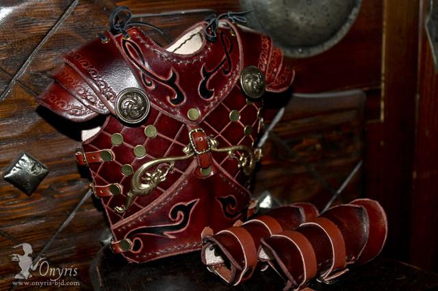 [Cuir Miniature]  Ldoll: déluge de sacs à main!  p11 - Page 10 Leather_armor_doll