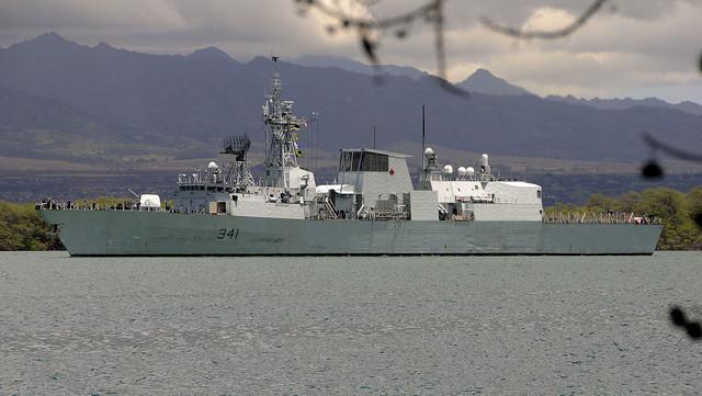 RIMPAC2018 HMCS Ottawa FFH 341 CANADA