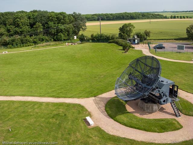 Musee radar Douvres aerien