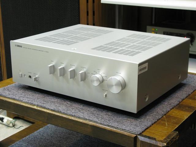 Yamaha AS-300 Integrated Stereo Amplifier, Speaker amp 01-26-00-b