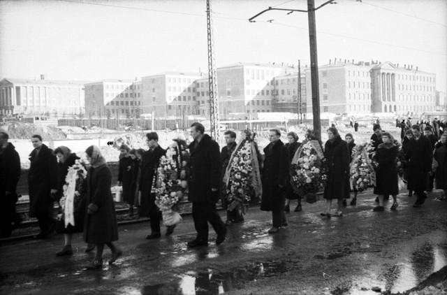 Dyatlov pass funerals 9 march 1959 11