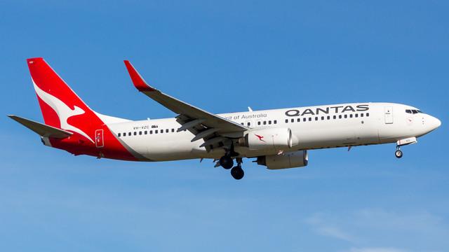 Qantas 737 800 VH VZC 010718