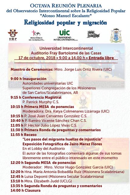 programa ORP VIII migraci n