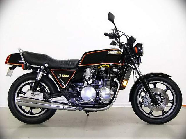 Kawasaki Z1300 79
