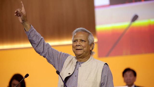 Muhammad Yunus at the Olympics