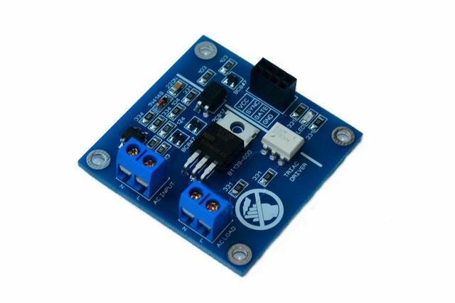 Ac Led Light Dimmer Controller Board Arduino Raspberry Smart Home 50hz 60hz