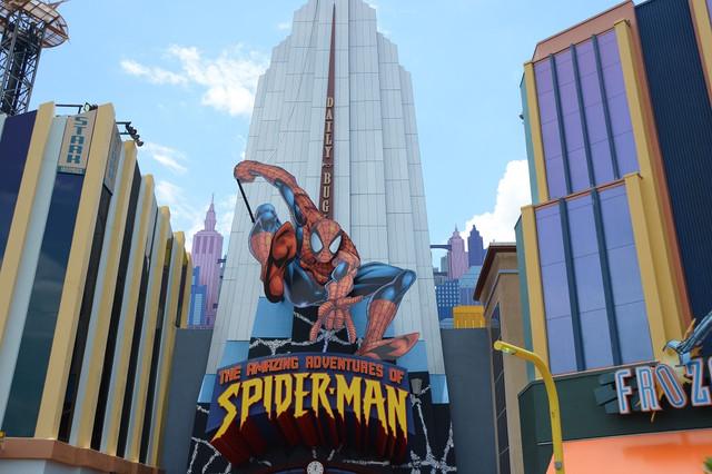 The Amazing Adventures of Spider-Man ride at Universal Orlando