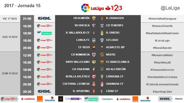 LALIGA 1|2|3  2017/2018 - HORARIOS-https://preview.ibb.co/ea9B0w/35_A81678_AE32_4_F82_BA3_E_5898_A7_AE84_C0.jpg