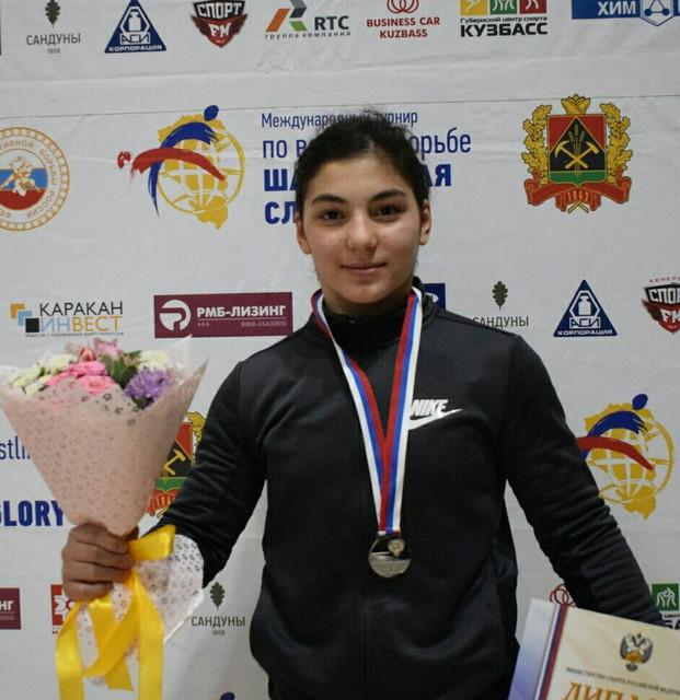 Амина Танделова стала серебряным призером чемпионата Европы по вольной борьбе