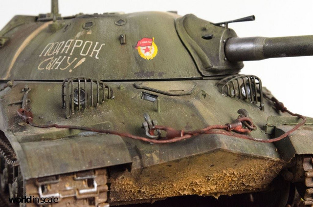 IS-7 (Object 260) Heavy Tank - 1:35 of Trumpeter 28238875_996436947190487_8964250498163344815_o