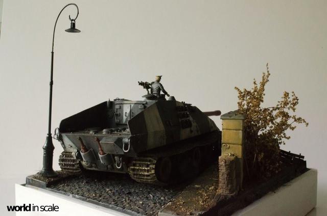 E-100 Jagdpanzer - 1/35 v. Trumpeter 32222349_1042675715899943_8945727097230327808_o